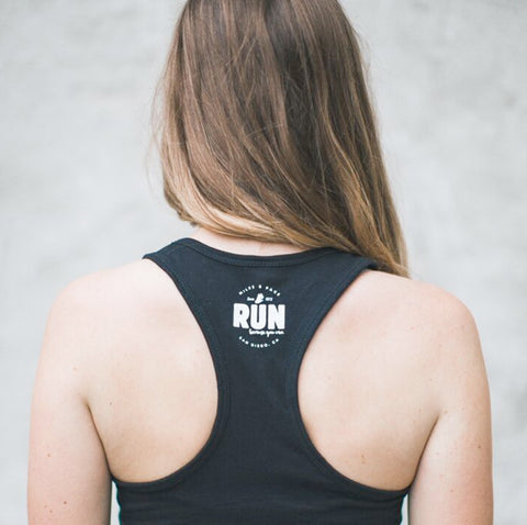 "Sunday ""RUNDAY"" Tank // OG Black"