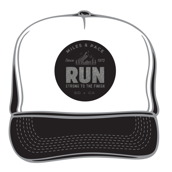 Strong to the Finish Trail, Run Trucker Hat (multiple colors)
