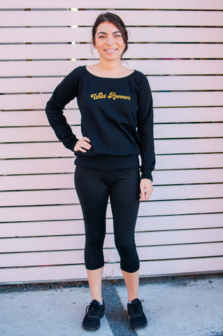 Wild Runner // Sweatshirt // Gold Imprint