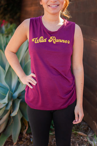 Wild Runner // Muscle Tank // Gold Imprint