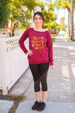 Run Because You Can // Fall Sponge Fleece Sweatshirt