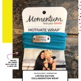 momentum run wrap, hot pink, run apparel, run accessories, miles & pace