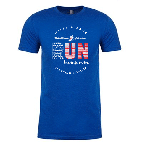 USA Run Because I Can // Tee // Unisex