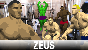 Zeus Add-On Character