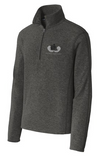Heather Microfleece 1/2-Zip Pullover. F234