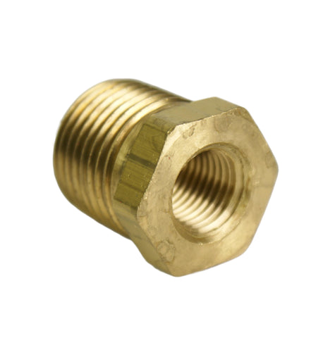 "1/2"" Male to 1/4"" Female NPT Reducer - Hot Spot Fab"