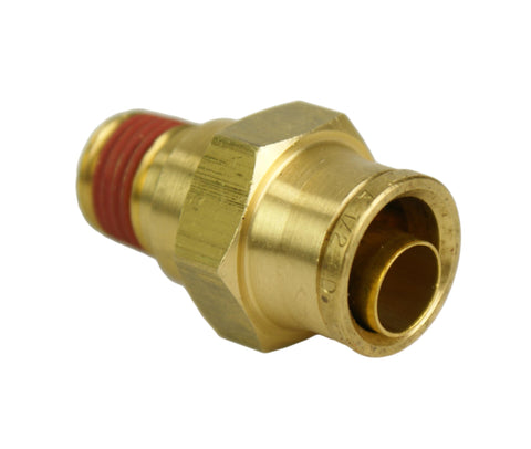 "3/8"" Hose 1/4"" NPT Straight Push-to-Connect - Hot Spot Fab"