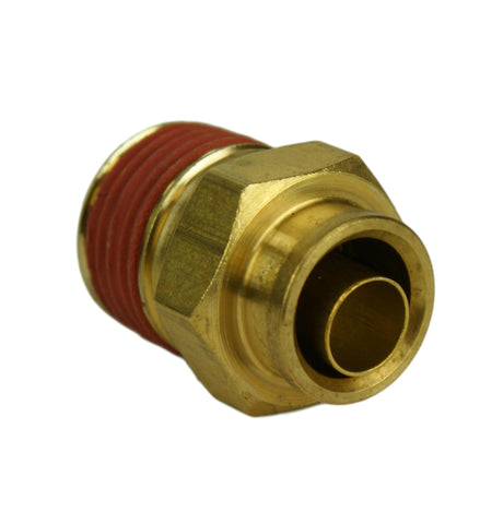"1/2"" Hose 1/2"" NPT Straight Push-to-Connect - Hot Spot Fab"