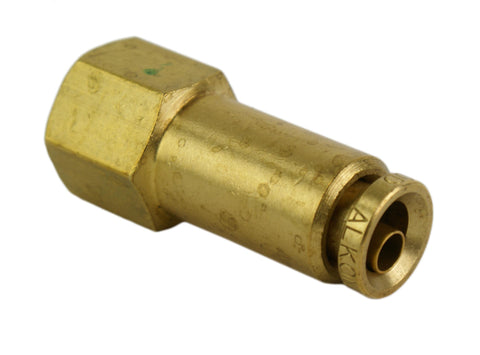 "1/4"" Hose 1/8"" NPT Female Straight Push-to-Connect - Hot Spot Fab"