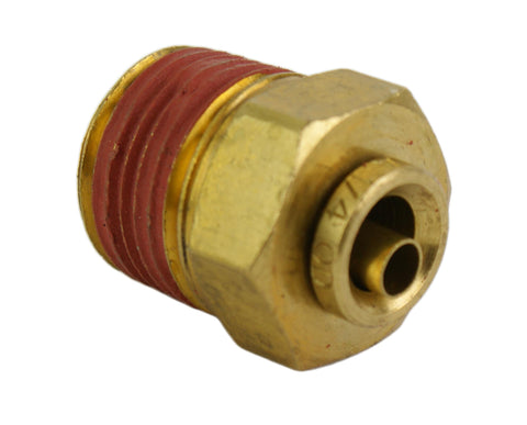 "1/4"" Hose 3/8"" NPT Straight Push-to-Connect - Hot Spot Fab"