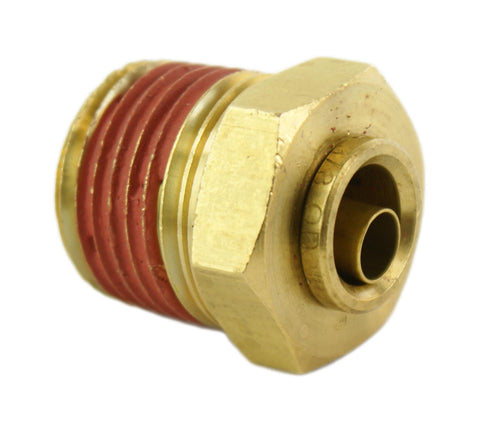 "3/8"" Hose 1/2"" NPT Straight Push-to-Connect - Hot Spot Fab"