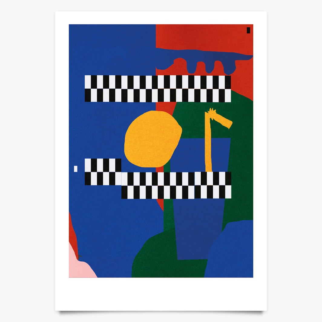 Limonade Parade (02) - Art Print by Raby-Florence Fofana | Another Fine Mess