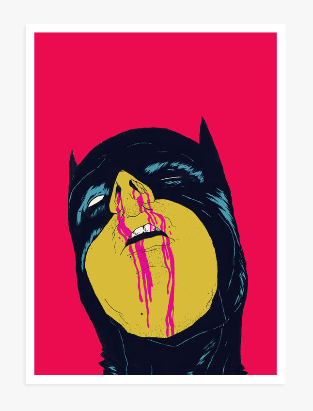 Untitled (Batman) - Art Print by Boneface | Another Fine Mess