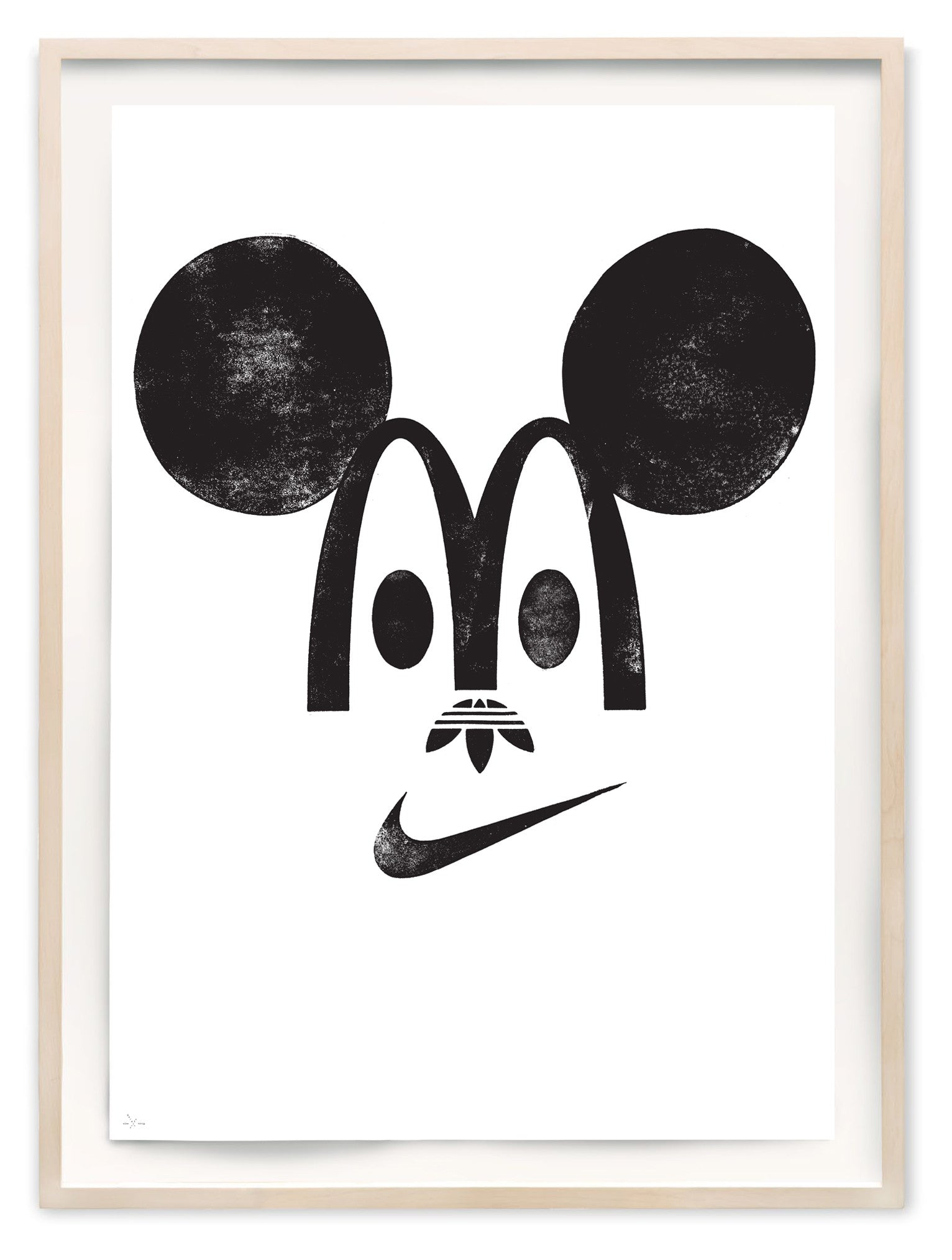 Happy Branding - Art Print by Eike König | Another Fine Mess