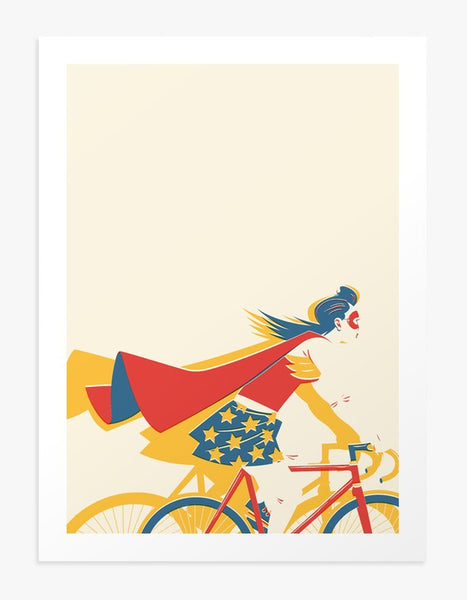 Untitled (Superhero) - Art Print by Matt Taylor | Another Fine Mess