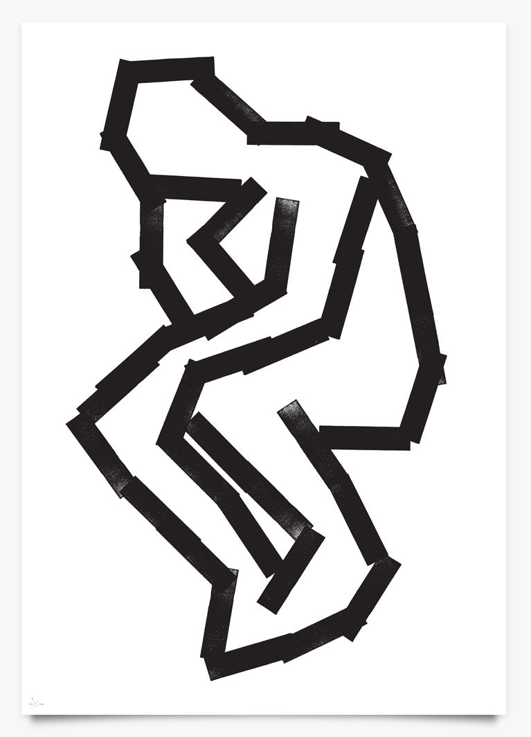 Thinker - Art Print by Eike König | Another Fine Mess
