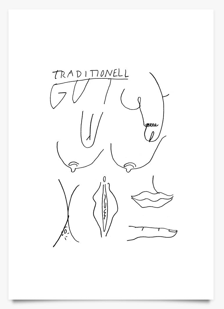 Traditionell Gut - Art Print by David Schiesser | Another Fine Mess