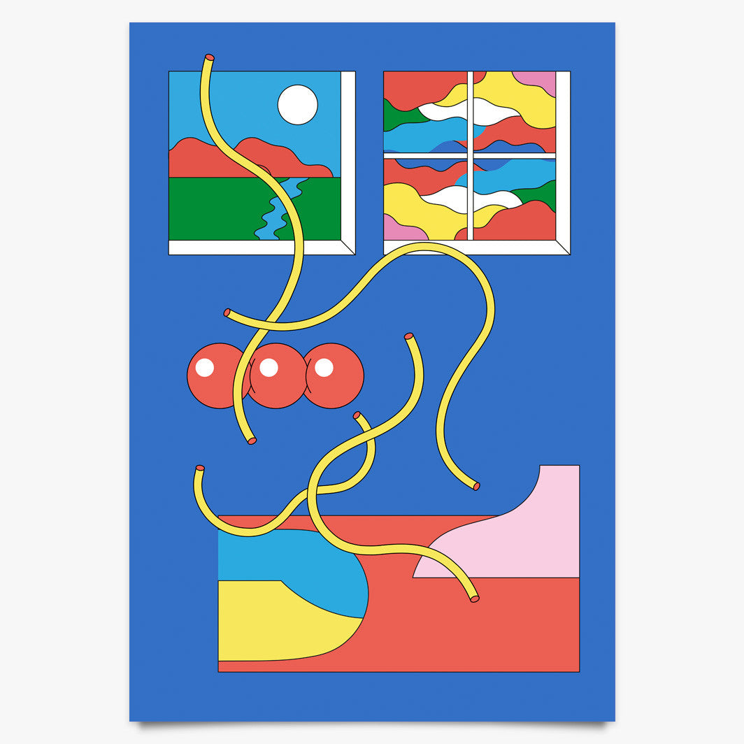 Windows - Art Print by Alexander Medel Calderón | Another Fine Mess
