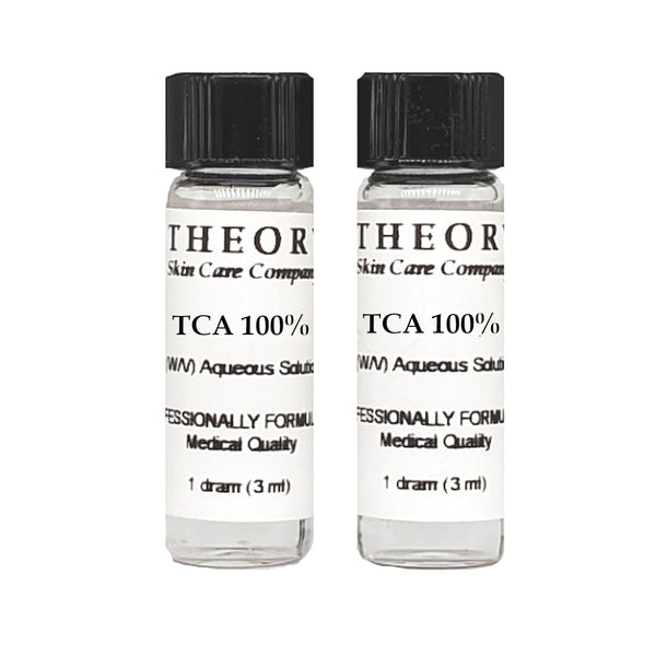 Trichloroacetic Acid, 2-1 DRAM size 100% Peel Solution, Wrinkles, Anti Aging, Age Spots