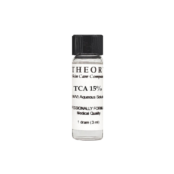 Trichloroacetic Acid, 1 DRAM size 15% Peel Solution, Wrinkles, Anti Aging, Age Spots