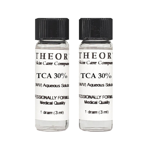 Trichloroacetic Acid, 2-1 DRAM size 30% Peel Solution, Wrinkles, Anti Aging, Age Spots