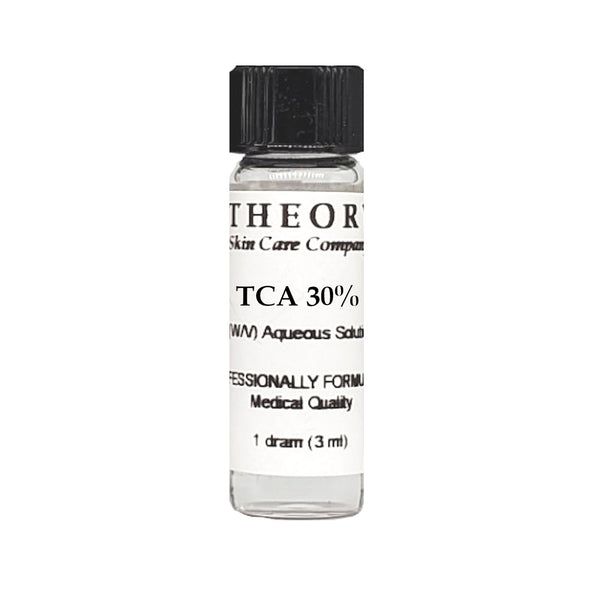 Trichloroacetic Acid, 1 DRAM size 30% Peel Solution, Wrinkles, Anti Aging, Age Spots
