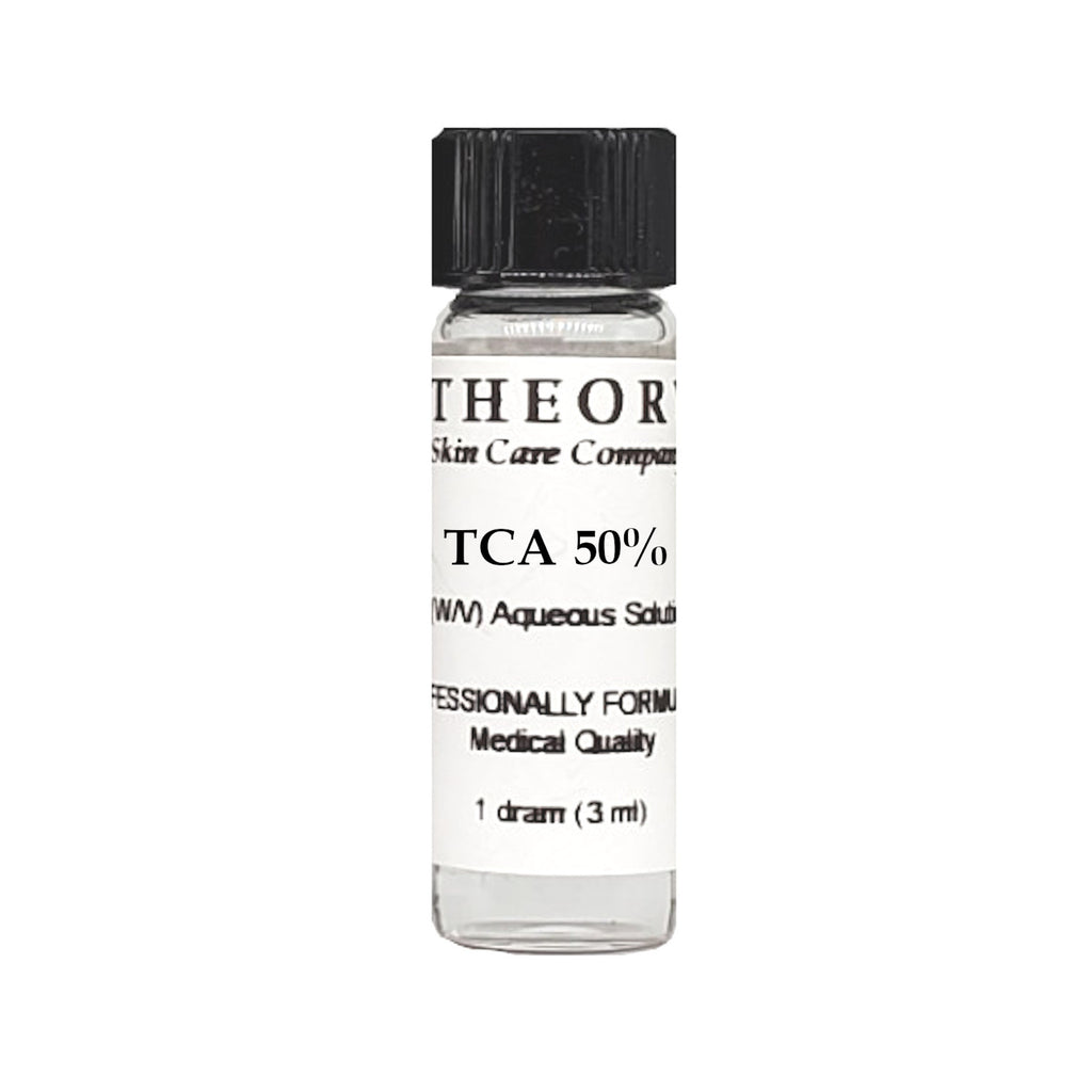 Trichloroacetic Acid, 1 DRAM size 50% Peel Solution, Wrinkles, Anti Aging, Age Spots