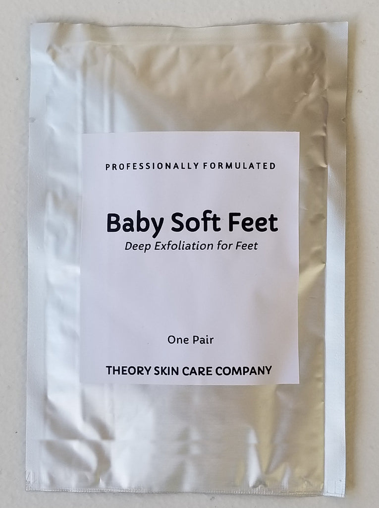 Baby Soft Feet, Our Deep Exfoliating Foot Peel for Sexy Soft Feet