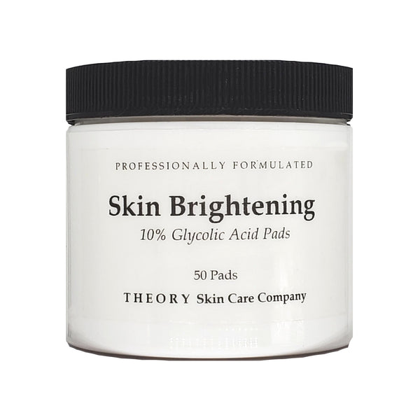 Skin Brightening Pads With 10% Glycolic Acid -  Brighter skin