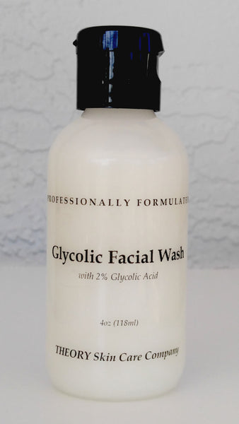 Glycolic Acid Facial Wash with Botanicals, Anti Aging, Wrinkles,Sun Spots