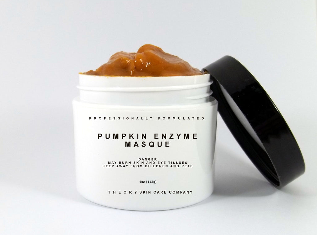 Pumpkin Enzyme Masque 5% Glycolic Acid, 4 oz - Professionally Formulated Mask