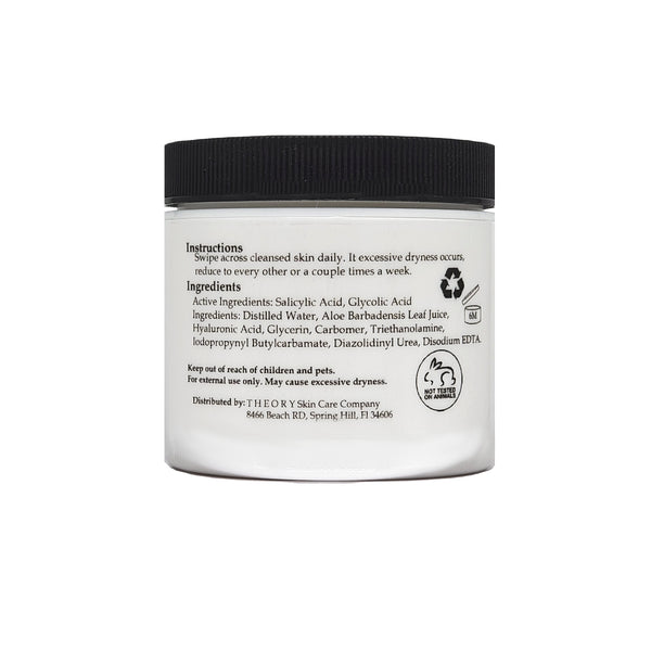 Skin Clarifying Pads-Clears Acne, Blackheads, Whiteheads And Lightens Scarring