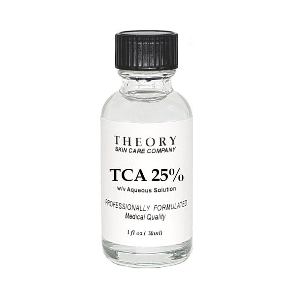 TCA, Trichloroacetic Acid 25% Chemical Peel - Wrinkles, Anti Aging, Age SpotsMedical Grade, Wrinkles, Fine Lines, Freckles, Scars, Age spots
