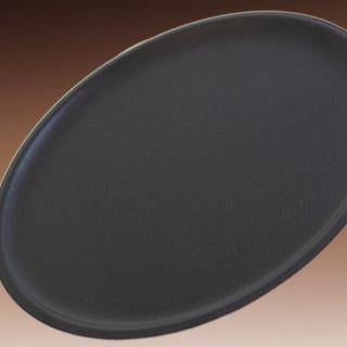 PIZZA GENIUS PAN, BLACK STEEL,TRADITIONAL - CROWN COOKWARE CA WEB STORE