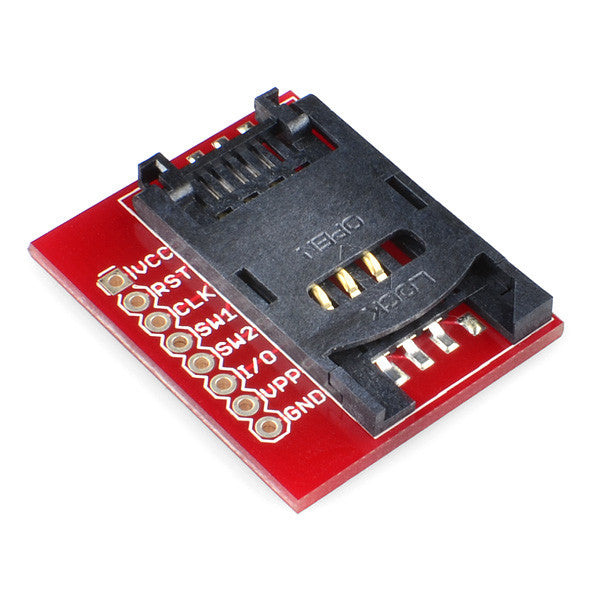 Tanotis - SparkFun SIM Card Socket Breakout Boards, Sparkfun Originals - 1