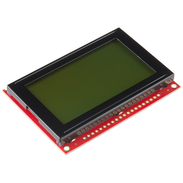 Tanotis - SparkFun Graphic LCD 128x64 STN LED Backlight Monochrome - 1