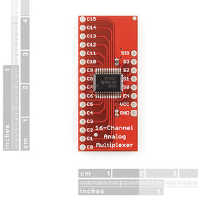 Tanotis - SparkFun Analog/Digital MUX Breakout - CD74HC4067 Boards, Sparkfun Originals - 2