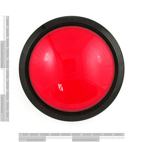 Tanotis - SparkFun Big Dome Pushbutton - Red Buttons/Switches - 3