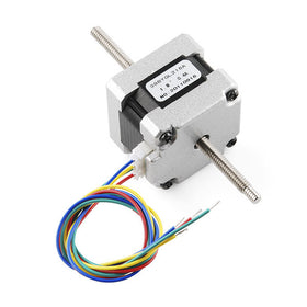 Tanotis - SparkFun Stepper Motor - 29 oz.in (200 steps/rev, Threaded Shaft) - 1