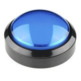 Tanotis - SparkFun Big Dome Pushbutton - Blue Buttons/Switches - 1