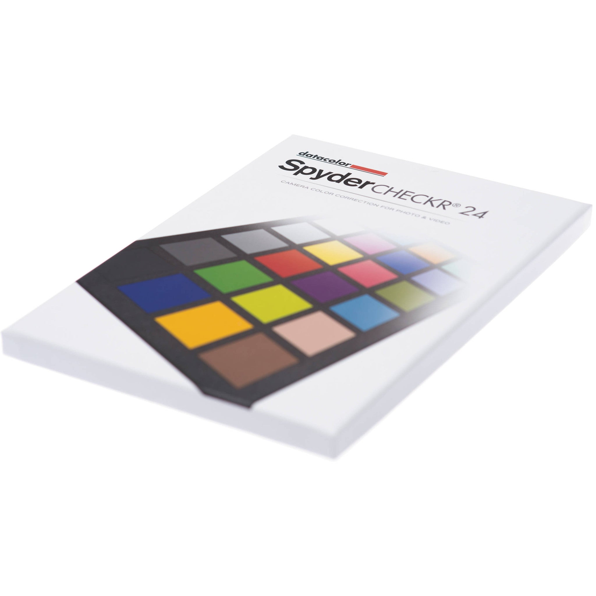 Datacolor 24 Color Patch and Grey Card Camera control photo video White Balance