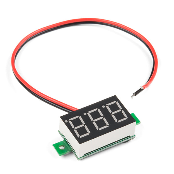 SparkFun Digital LED Voltmeter