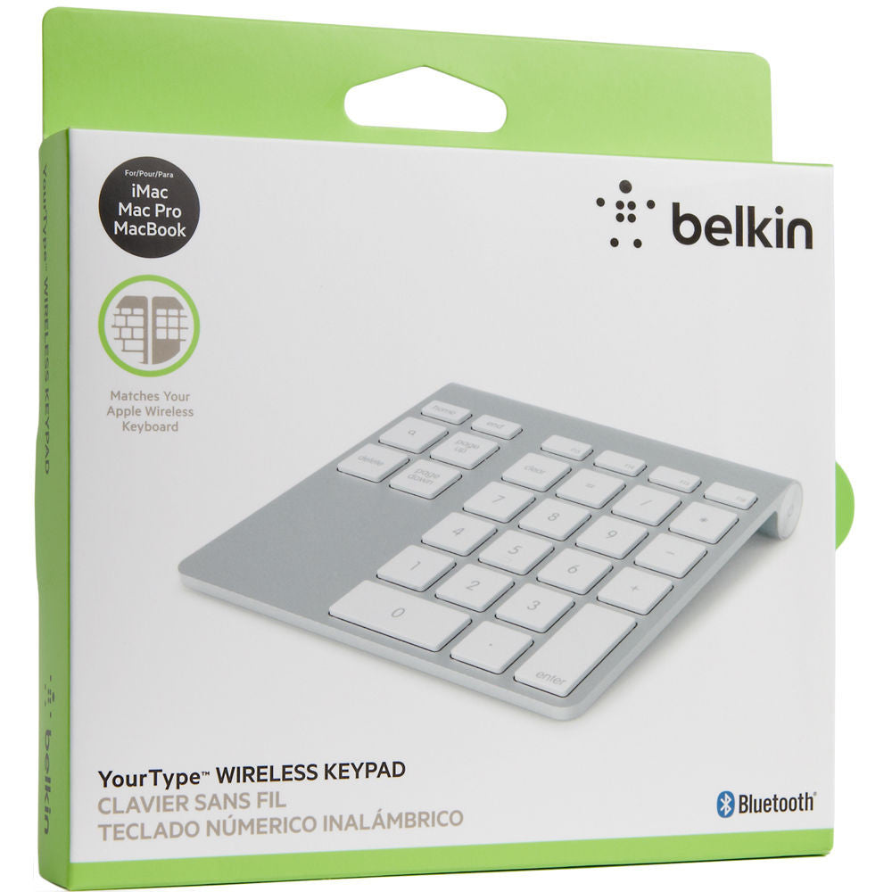 24c7546068b Belkin YourType Bluetooth Wireless Keypad for MacBook Air/MacBook Pro/iMac