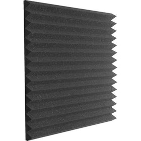 "Auralex 2 x 24 x 24"" Studiofoam Wedge Panels (Pair, Charcoal)"