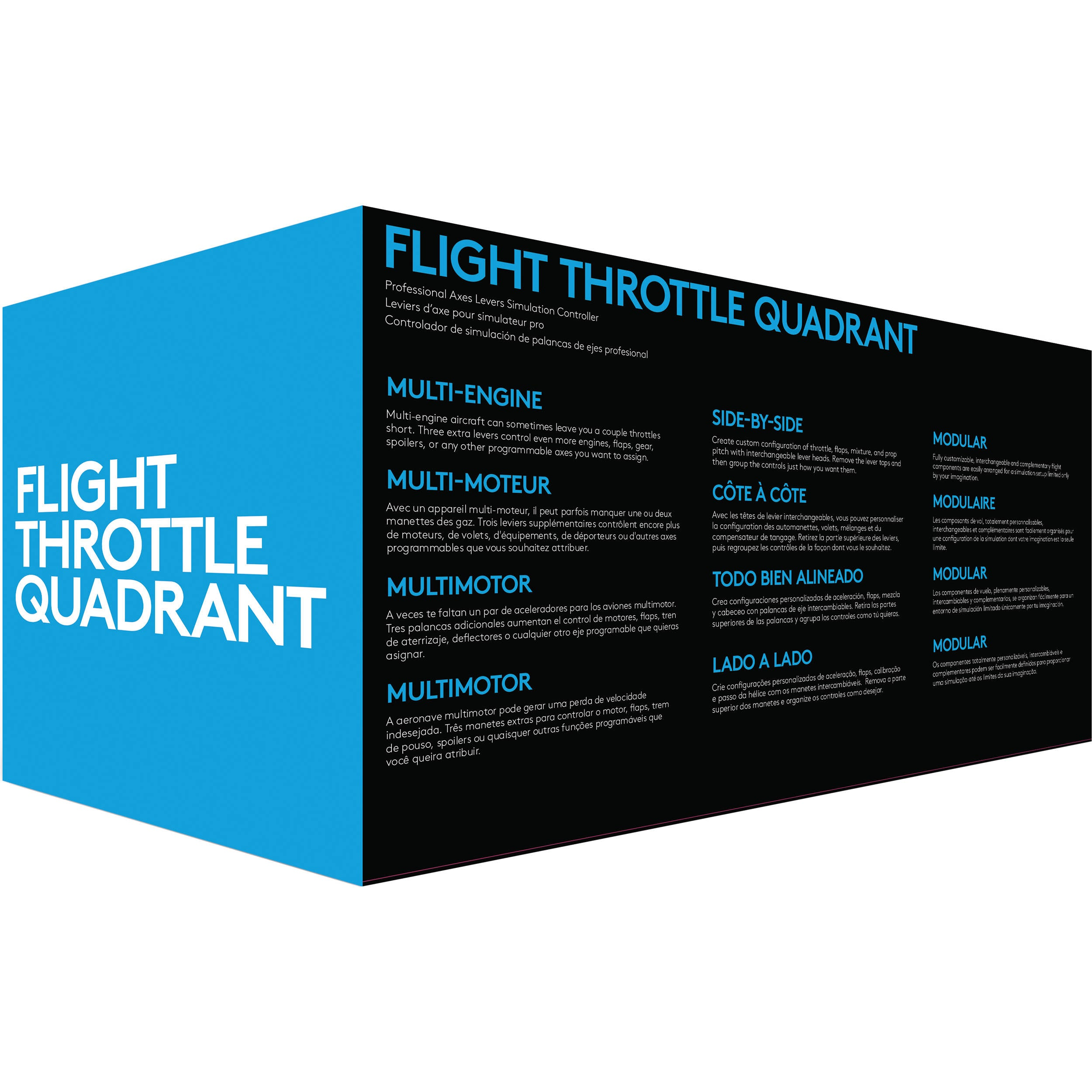 Logitech Flight Throttle Quadrant