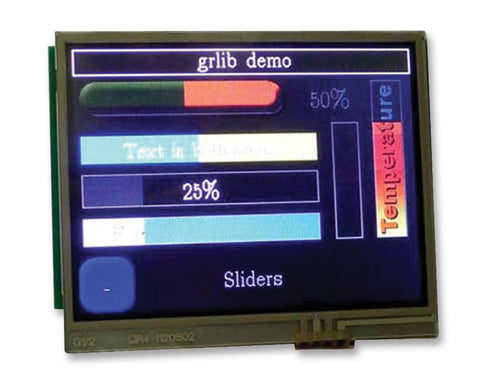 KENTEC DISPLAY EB-LM4F120-L35 LCD Boosterpack for Stellaris LaunchPad