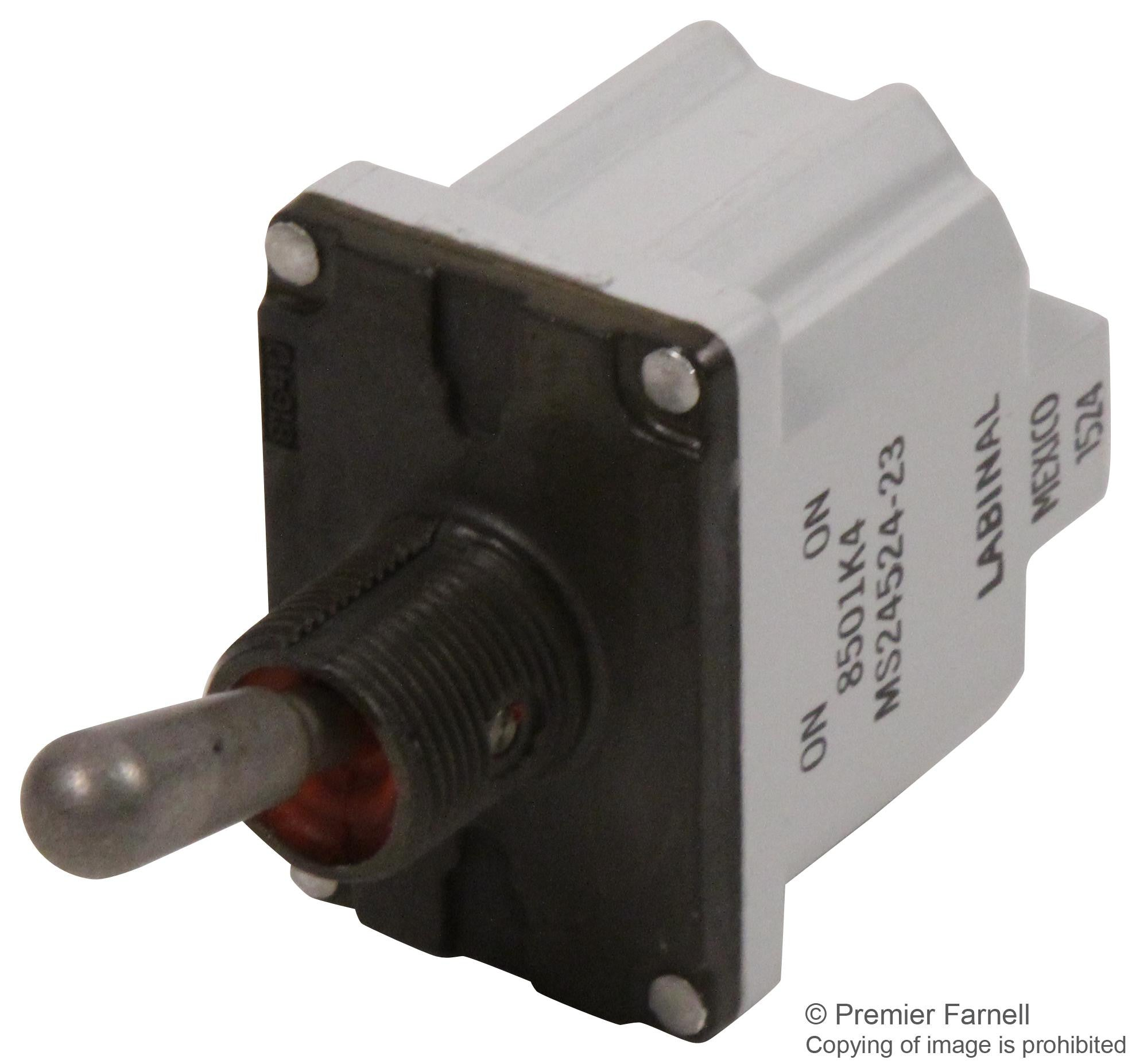 Buy SAFRAN ELECTRICAL AND POWER SWITCH, TOGGLE, DPST, 20A, 115V in ...