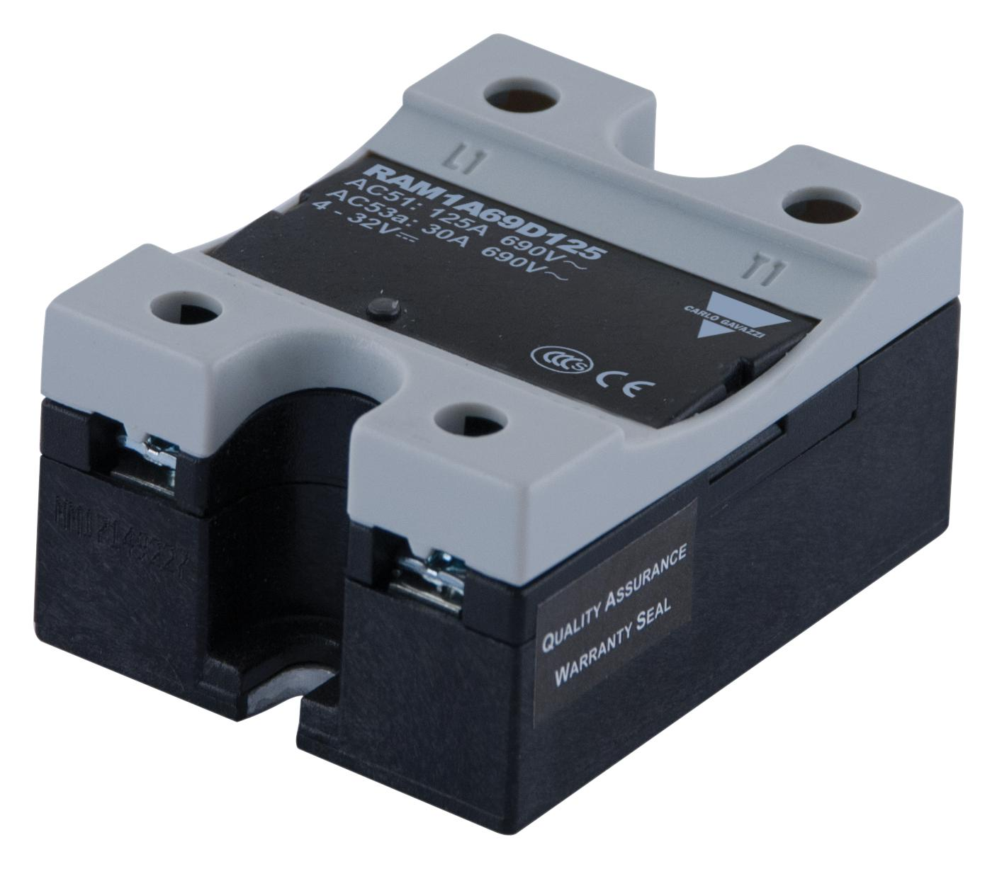Products Tagged Solid State Relays Tanotis Relay 230vac Carlo Gavazzi Ram1a23d125 125a 3 32vdc Panel