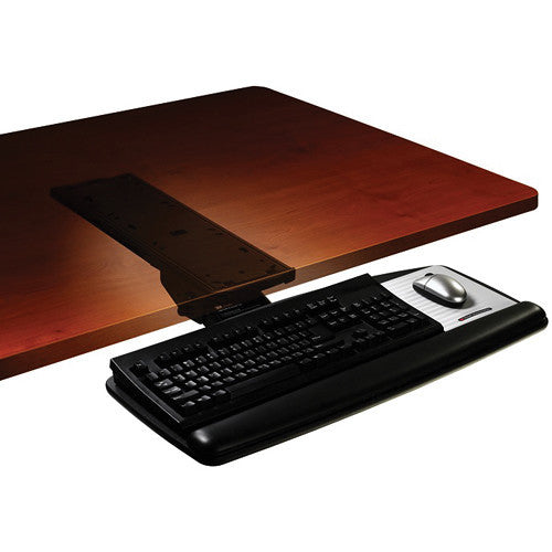 3M AKT60LE Adjustable Keyboard Tray with Knob-Adjust Arm