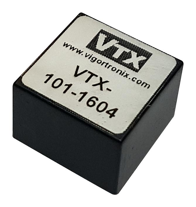 VIGORTRONIX VTX-101-1604 Audio Transformer, 600 ohm, 600 ohm, Through Hole